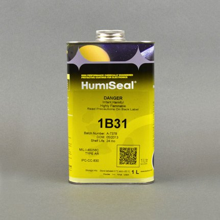 HumiSeal 1B31 Acrylic Conformal Coating Clear 1 L Can