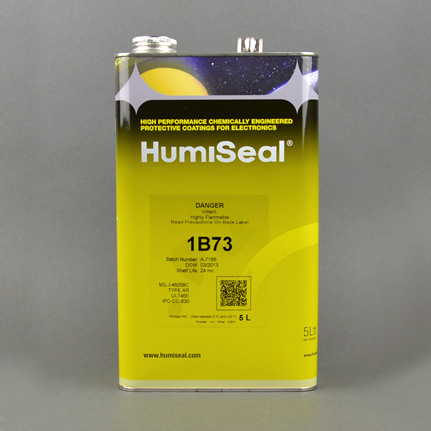 HumiSeal 1B73 Acrylic Conformal Coating Clear 5 L Can