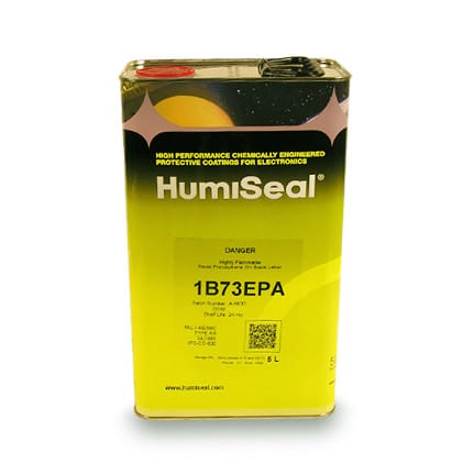 HumiSeal 1B73EPA Acrylic Conformal Coating Clear 5 L Can