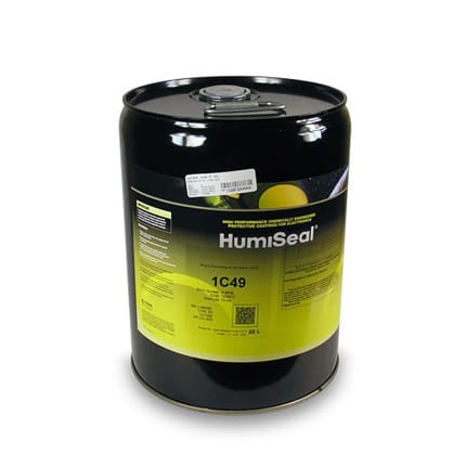 HumiSeal 1C49 Silicone Conformal Coating Clear 20 L Pail
