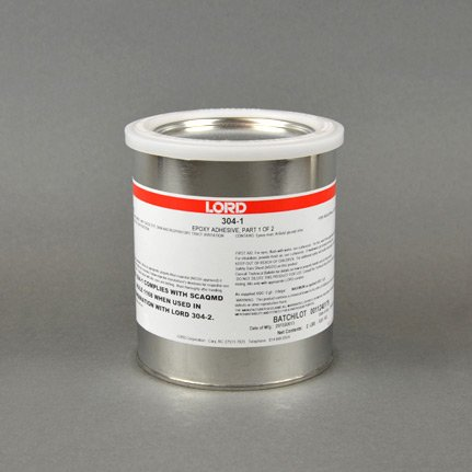 LORD® 304-1 General Purpose Epoxy Adhesive Resin Part A Gray 1 qt Can