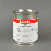 LORD® 305-2 General Purpose Epoxy Adhesive Hardener Part B Blue 1 qt Can
