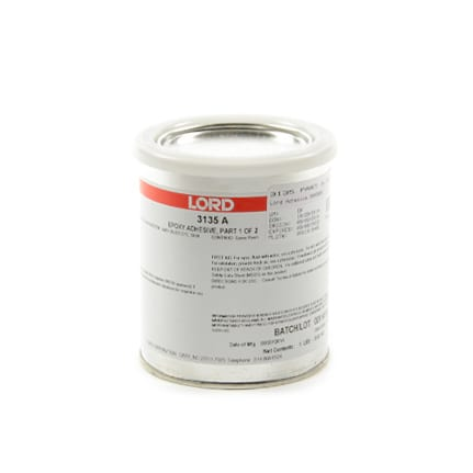 LORD® 3135 Epoxy Adhesive Resin Part A Straw 1 pt Can