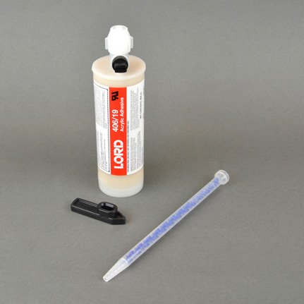 Parker LORD® 406-19 Modified Acrylic Adhesive Off-White 404 mL Cartridge