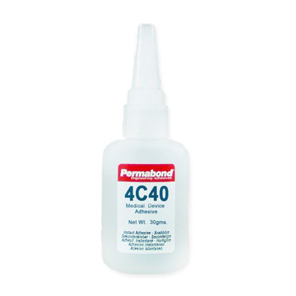 Permabond 4C40 Medical Device Adhesive Clear 30 g Bottle