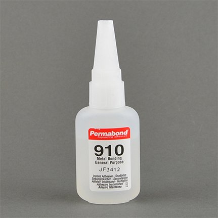 Permabond 910 The Original Methyl Cyanoacrylate Adhesive Clear 1 oz Bottle
