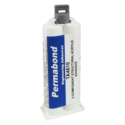 Permabond TA4610 Toughened Acrylic Adhesive Off-White 50 mL Kit