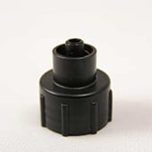 Plas-Pak EA-50-3 Threaded Cap Adapter 0.75 oz