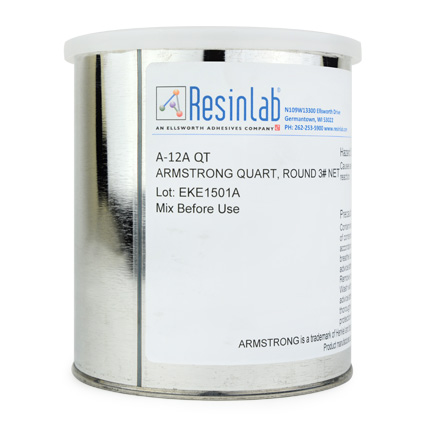 ResinLab Armstrong™ A-12 Epoxy Adhesive Resin Part A Brown 1 qt Can