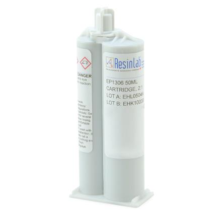 ResinLab EP1306 Acrylic Epoxy Adhesive Gray 50 mL Cartridge