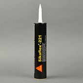 Sika Sikaflex-221 Non-Sag Polyurethane Sealant Black 300 mL Cartridge