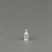 Techcon EA16S-1 TS Series Blunt Crimped Hub Stainless Needle 16 ga x 1 in